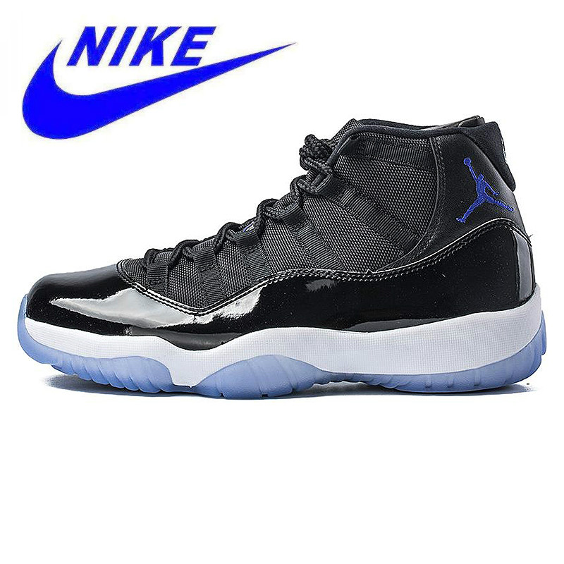 Non Slip NIKE Air Jordan 11 Space Jam AJ11 Men Basketball Shoes ... baf408b48