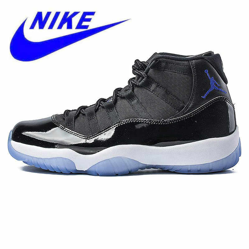 590887bbfb2 Detail Feedback Questions about Non Slip NIKE Air Jordan 11 Space Jam AJ11  Men Basketball Shoes