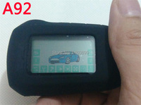 Free Shipping 2 Way A92 LCD Remote Control Key Fob Chain For Russian Version Two Way