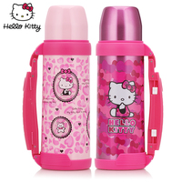 Hello Kitty Stainless Steel Thermal Pot Thermos Bottle Home Female Models Large Capacity Outdoor Travel Kettle 30*10.3*11.6cm