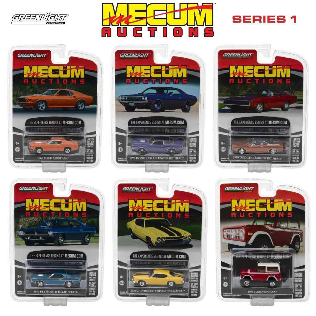 GL 1:64 Mecum Auctions Collector Cars Series 1 alloy model Car Diecast Metal Toys Birthday Gift For Kids Boy