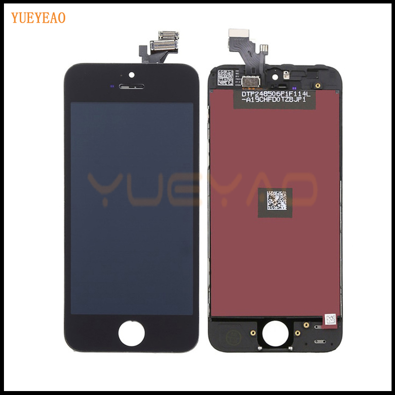 YUEYAO NO Dead Pixel LCD Display For iPhone 5 5S 5c 4S 4 Touch Screen With Digitizer Assembly Replacement + Bezel FrameYUEYAO NO Dead Pixel LCD Display For iPhone 5 5S 5c 4S 4 Touch Screen With Digitizer Assembly Replacement + Bezel Frame