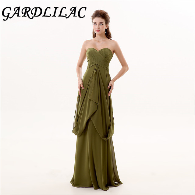 Long Strapless Evening Gowns