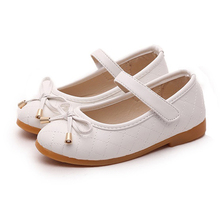 COZULMA Spring Summer Kids Fashion Shoes for Girls Causal Children Princess Bow Mary Jane Flat Sneaker