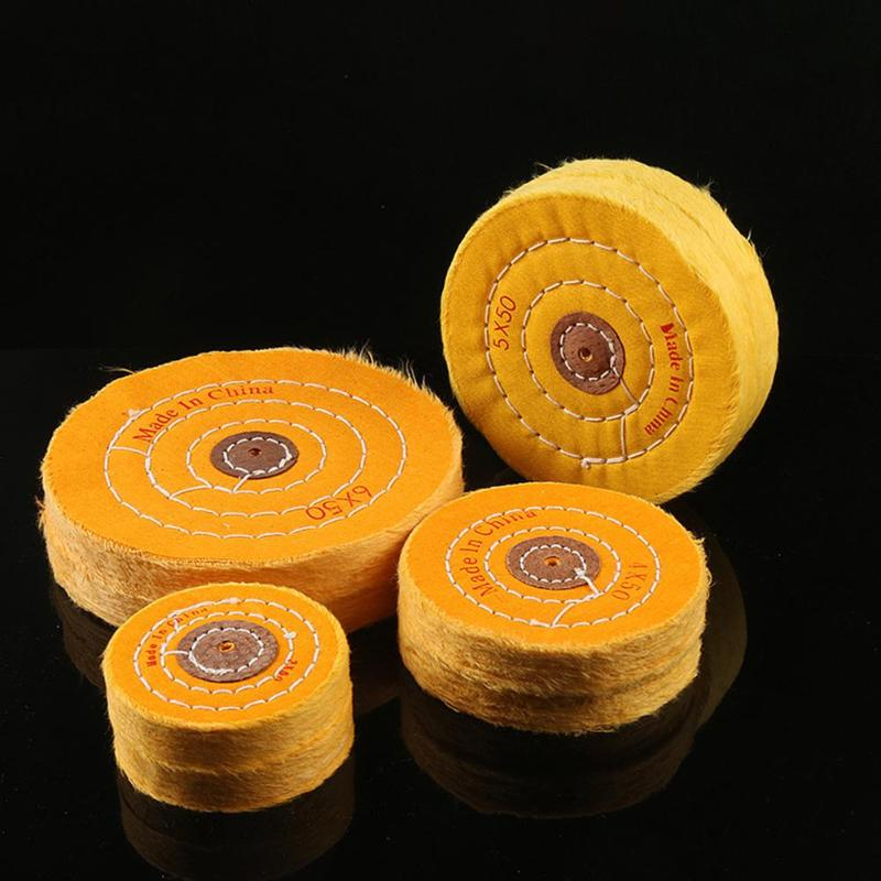 Metal Wood Polishing Wheel Buffing Grinding Head Cloth Wheel Gold Silver Jewelry Mirror Polishing Wheel Abrasive Tool
