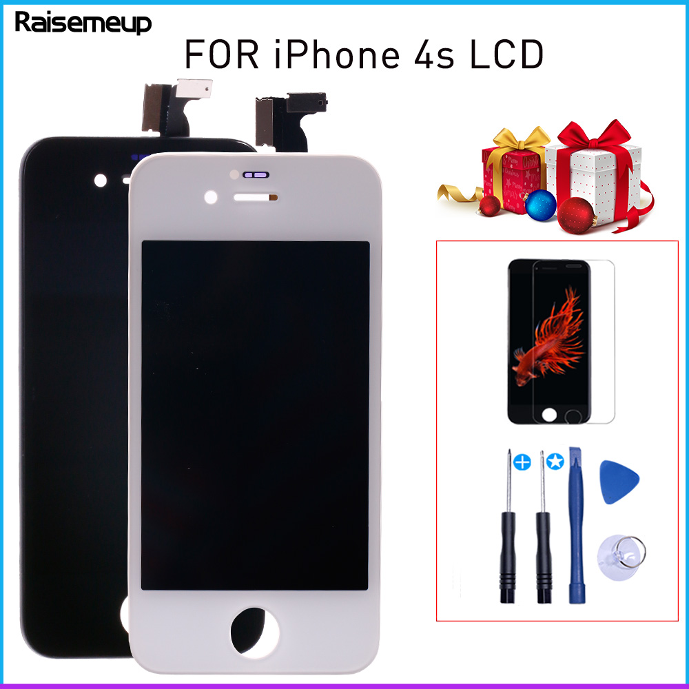 2X Adhesive Screen Bezel Frame Tape Sticker for iPhone 4 4S A1332 A1349 A1387