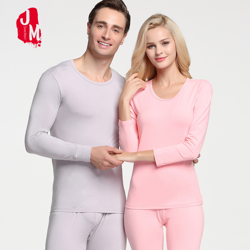 Winter Lover Long Johns Autumn Thermal Underwear Sets Man And Women Slim Underwears Sets Layered Clothing Pajamas Long Johns