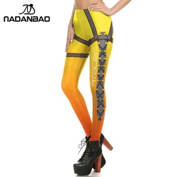 NADANBAO Brand New Women leggings Super HERO Tracer Leggins Printed leggins Woman Clothings 2