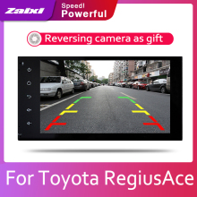 ZaiXi 2din Car multimedia Android Autoradio Car Radio GPS player For Toyota RegiusAce 2004~2019 Bluetooth WiFi Mirror link Navi аркоксиа 30 мг 28 табл