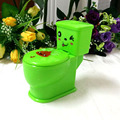 Free Shipping  Plastic Green  Creative Hallowmas  Gifts And Toys Tricky Spray Water Closestools  Automatically