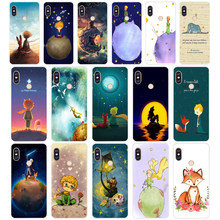 181WE Lovely the Little Prince fox On Mint Soft Silicone Tpu Cover phone Case for xiaomi redmi 6 5A 6A 5Plus note 5 6 5A Pro(China)