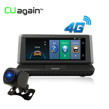 "CUagain CU2 Mirror GPS DVR 8"" Dash Cam 4G Wifi Android Car Camera Mirror Touch Screen Video Recorder Bluetooth Autoregistrator"