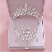 High Quality Fashion Crystal Wedding Bridal Jewelry Sets Wom