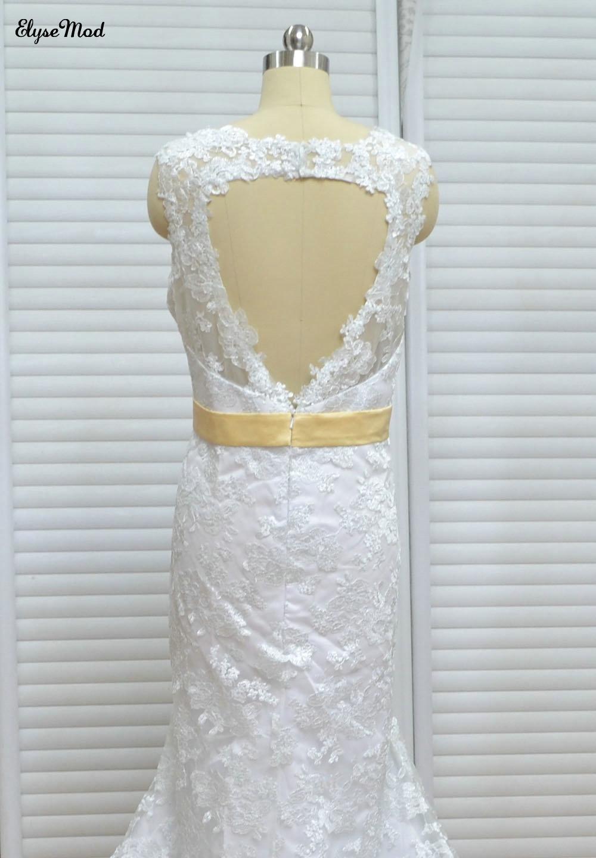 Imagine reală prințesă maternitate rochie de mireasa rochii de - Rochii de mireasa - Fotografie 4