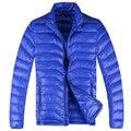Lesmart men's White Duck Down Jacket Men New Winter Warm Hooded Waterproof Fashion Style