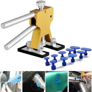 Car Paintless Dent Repair Remover Tools Auto Bumper Puller Kit Paint Suction PDR