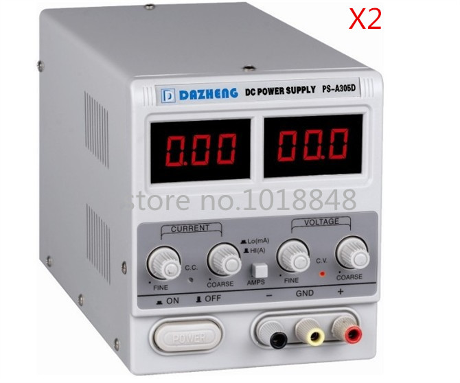 Variable 30V 5A DC Power Supply For Lab PS-305D 110V/220V adjustment 2pcs/Lot икона янтарная богородица скоропослушница кян 2 305
