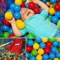 20 unids nuevos niños del bebé juego suave colorido juguete bolas para la bola Pit nadada Pit Ball Pool envío gratis