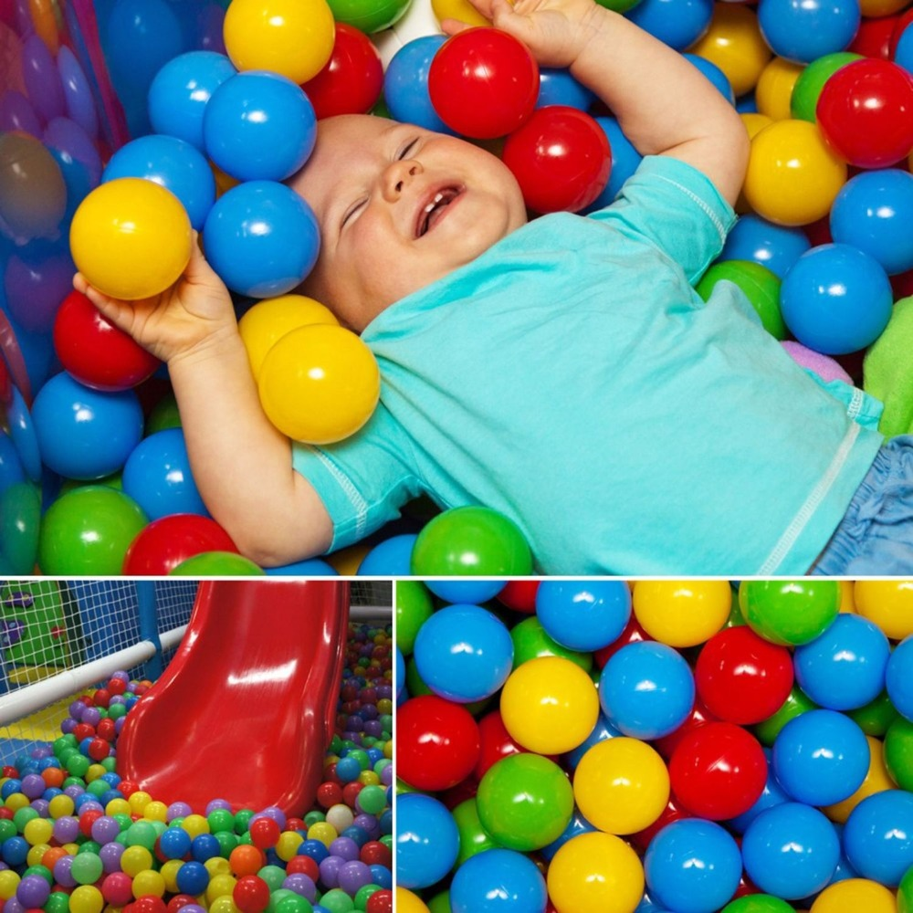 20pcs New Kids Baby Colorful Soft Play Balls Toy for Ball