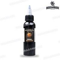 Tattoo Supply Dragonhawk Ink 2 OZ Black 60ml Fast Free Shipping SL129
