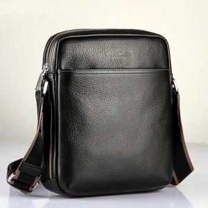 Новое поступление, горячая Распродажа, модная мужская сумка через плечо, мужская кожаная сумка-мессенджер, Высококачественная деловая сумк...