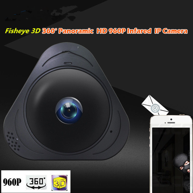 1.3MP 360 Degree WIFI IP Camera 960P Baby Monitor Two Way Audio Home Security CCTV WI-FI Camera Android Panorama 3D VR нивелир ada cube 2 360 home edition a00448