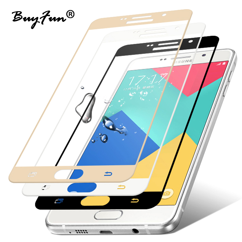 For Samsung Galaxy A3 A5 A7 2017 glas 9H Premium Full Cover Tempered Glass Screen Protector Film For Samsung A5 A7 2016 S6 S7