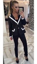 Autumn Winter New Women's suits Blazer pants trousers 2 Piece Sets Jacket Female Clothing custom made