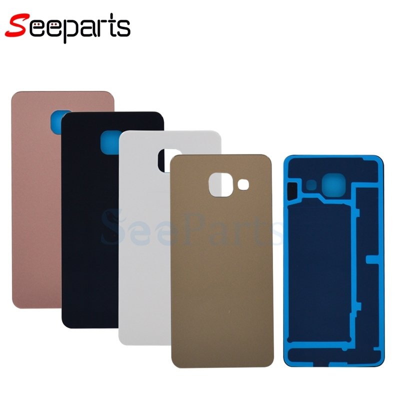 """4.7""""For SAMSUNG Galaxy A3 2016 Battery Cover A310 Back Glass A310F Rear Door Housing Case For SAMSUNG A3 2016 Battery Cover"""