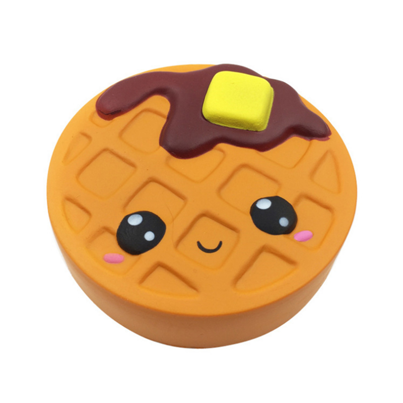 11.5cm Chocolate Cake Squishy Slow Rebound Squeeze Toy Soft Cute Waffle Healing Funny Autism Sensory Toys For Kids Cookie usb powered funny cute stress relieving humping spot dog toy brown chocolate white