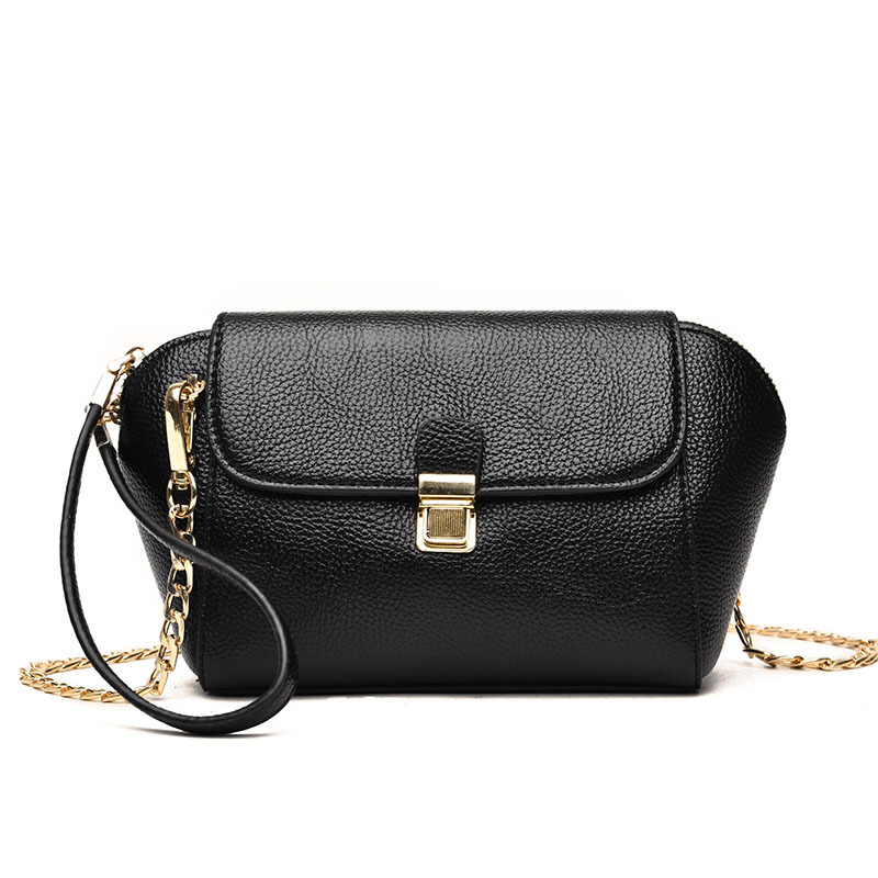 Hot Sale Summer Fashion Chains Shoulder CrossBody Bags Genuine Leather Womens Handbags Women Messenger Bag Clutches Bag Lady