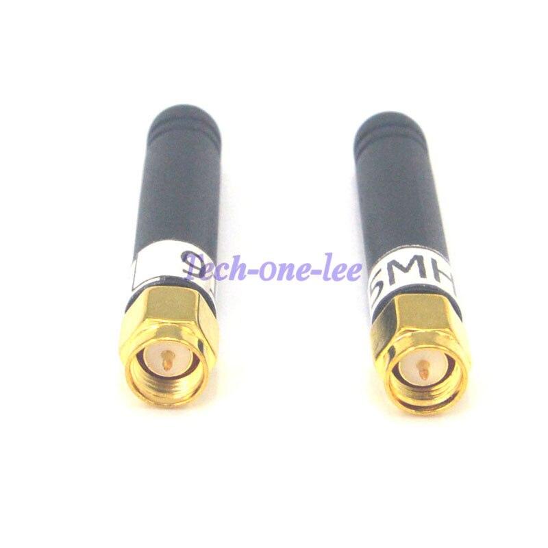 10pcs 2dbi 915MHz Antenna SMA Male Transmit Router Module Wireless Polarity 4.8cm