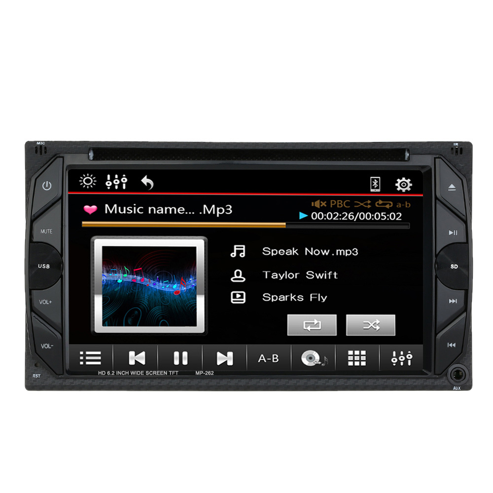 Aliexpress com buy universal 6 2 inch car electronic autoradio 2 din car dvd cd player for volkswagen golf 5 opel astra h vw from reliable autoradio 2 din