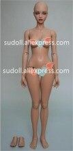 SuDoll BJD1 / 3 Doll Girl Free Eyes Brown Skin Topp kvalitet