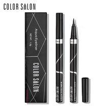 Цвет салона чистая aqua черный карандаш для глаз 1.5 г длительный водонепроницаемый и анти-пот быстро сухая формула eye liner pen косметика карандаш