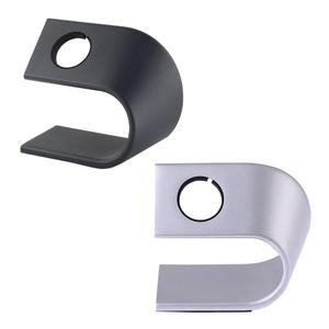 Image 2 - U Type smart watch holder Metal Kickstand Cradle Aluminum Charger Charging Stand Dock Station Bracket For Apple Watch iWatch