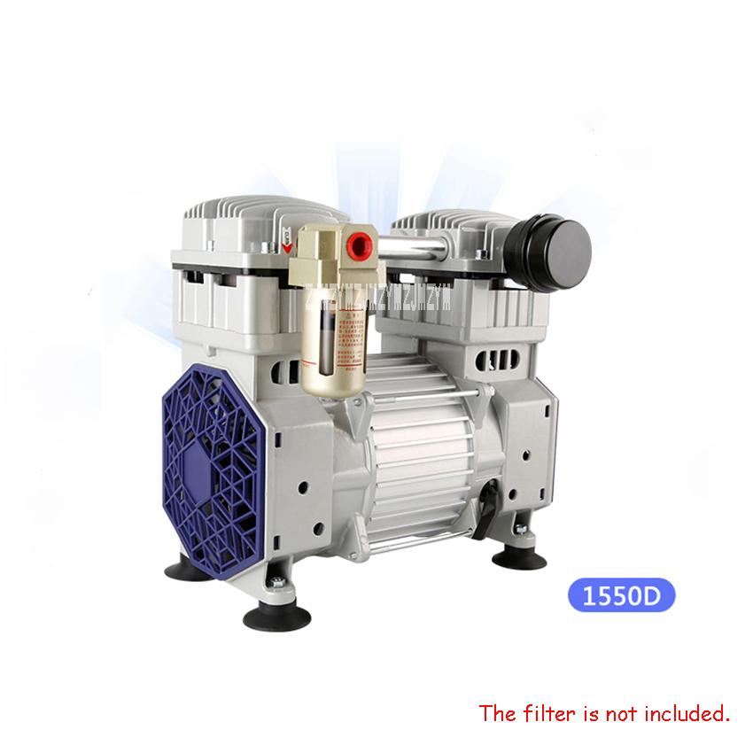 1550D Oil-Free High Vacuum Pump Industrial 220V/50HZ 1500W Large Flow Suction Pump Negative Pressure Pump 140L/Min