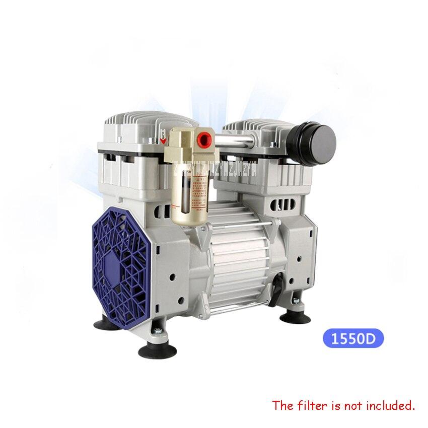 1550D sans huile pompe à vide industrielle pompe à vide haute pompe à vide 220 V 1500 W grand débit pompe d'aspiration pompe à pression négative