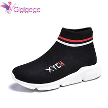 2019 Couple Breathable Casual Shoes For Women fashion designer Light Sneaker Comfortable Sweat-Absorbant Slip-on Fly Weave