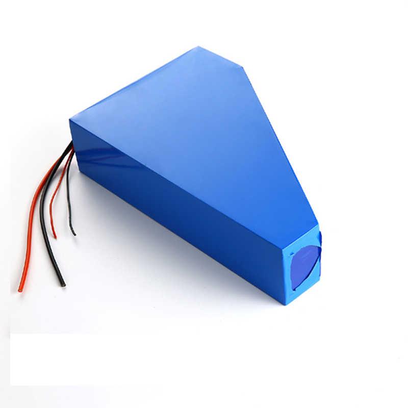 48v 750w 1000W triangle e-bike battery 48v 25ah lithium ion battery pack fit 48v bafang 8fun bbs02 motor kit