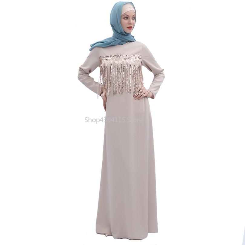 Abito musulmano Ramadan Abaya Abbigliamento Islamico Donne Malaysia Jilbab Djellaba Robe Musulmane Turco Baju Del Merletto Kimono Caftano Tunica
