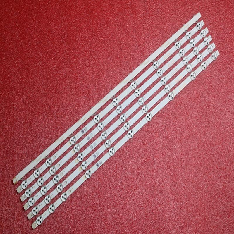 10pcs X 32 Inch LED Backlight Strip Replacement For VESTEL 32D1334DB VES315WNDL-01 VES315WNDS-2D-R02 VES315WNDA-01 11-LEDs 574mm