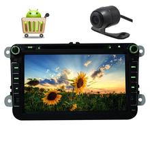 Android6.0  Din Car Stereo Digital GPS Car DVD Player Navigator Radio WiFi/OBD/Mirrorlink for VW Golf/Jetta/Passat+Backup Camera