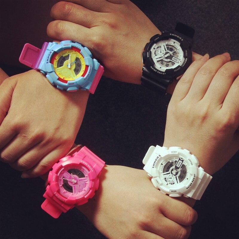 Women Sports Watches Outdoor Sport Waterproof LED Kids Watch Military Multifunction Boy Girl Wristwatch Montre Femme
