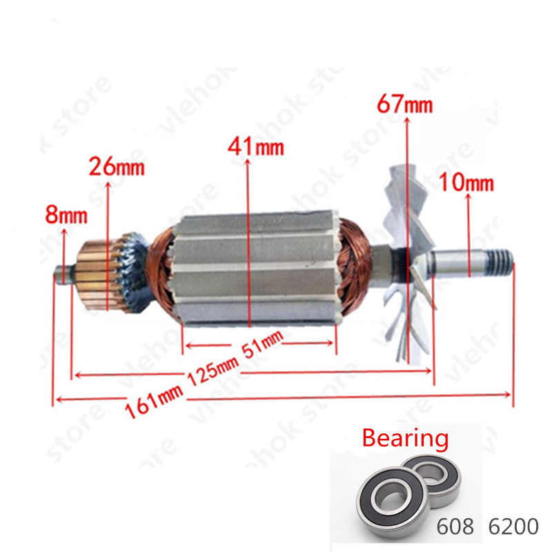 Worldwide delivery armature motor rotor makita in NaBaRa Online on
