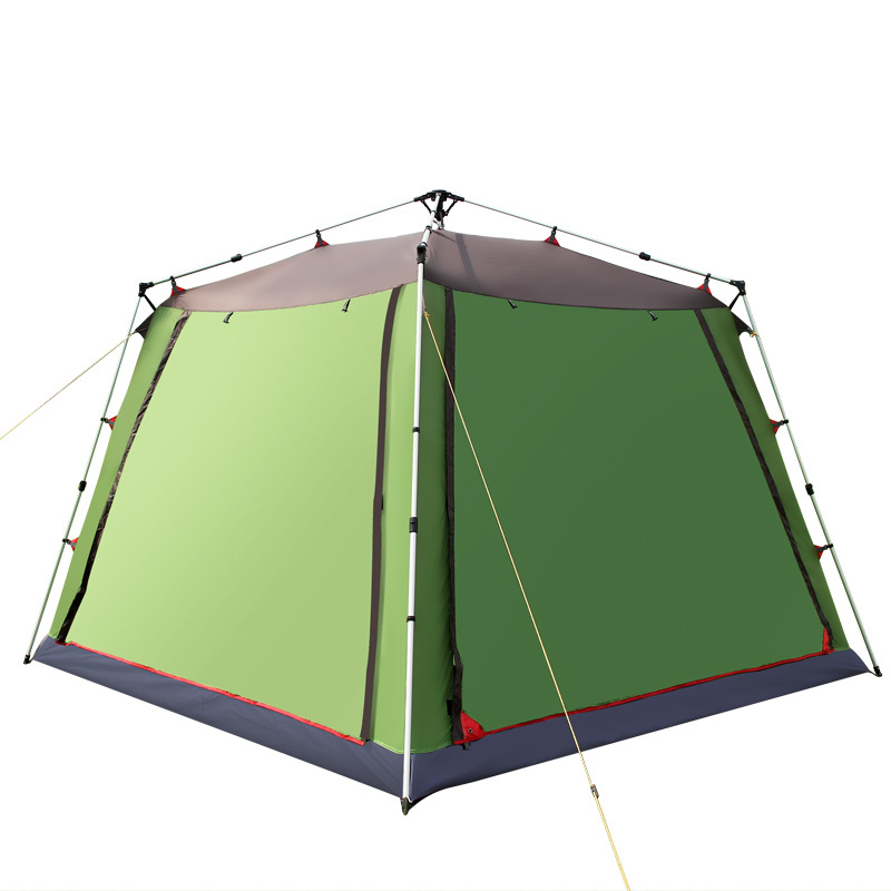 Outdoor Automatic Waterproof Large Tents Instant Beach C&ing Tent Pop Up Awning Tarp Aluminum Rod Family Sun Shelter KU 649-in Tents from Sports ...  sc 1 st  AliExpress.com & Outdoor Automatic Waterproof Large Tents Instant Beach Camping ...