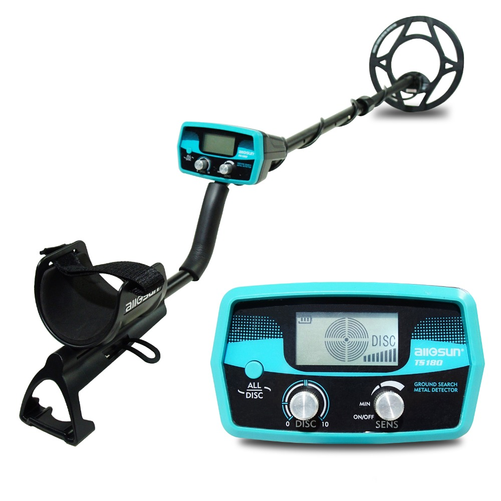 all sun TS180 Waterproof Handheld Metal Detector Underground High Precision Small Type Archaeological Positioning Instrument
