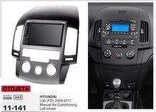 Navirider gps Bluetooth стерео android 9,1 Автомобильный мультимедийный для hyundai I30 ручной AC 2008-2011 Навигация автомобильное радио + рамка + камера