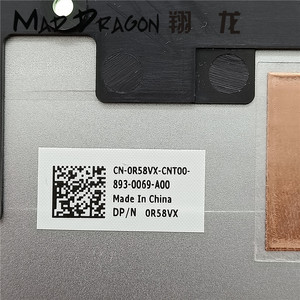 Image 5 - new original Laptop Bottom Base Bottom Cover Assembly for Dell Inspiron 13 7370 7373 7380 Silver 0R58VX R58VX 460.0B605.005