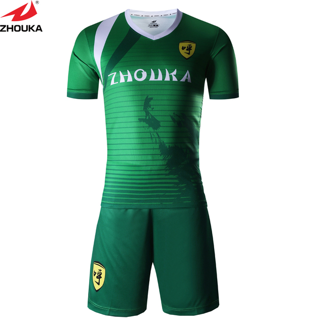 6502ce566 Custom Clothing Latest football jersey design sublimation soccer shirt  short uniform kits individual design and color